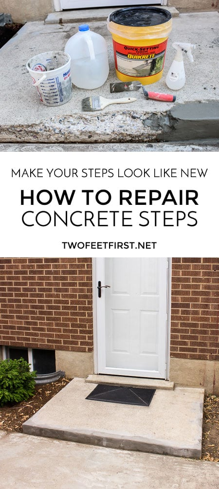 repair concrete steps