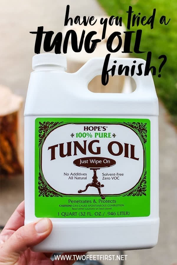 tips on applying tung oil