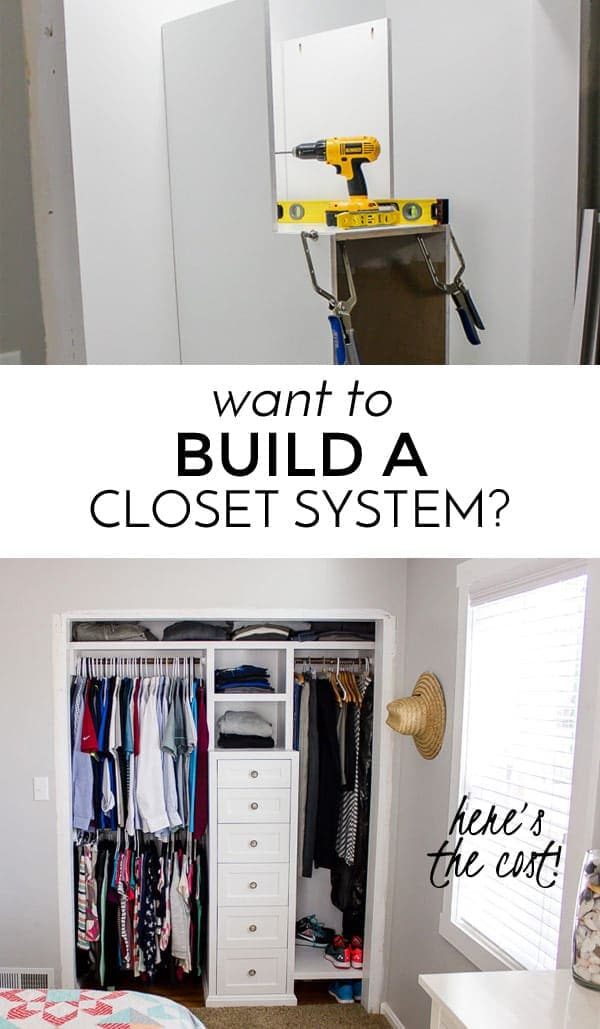 Do You Want To Build A Closet System? Here Is The Cost!