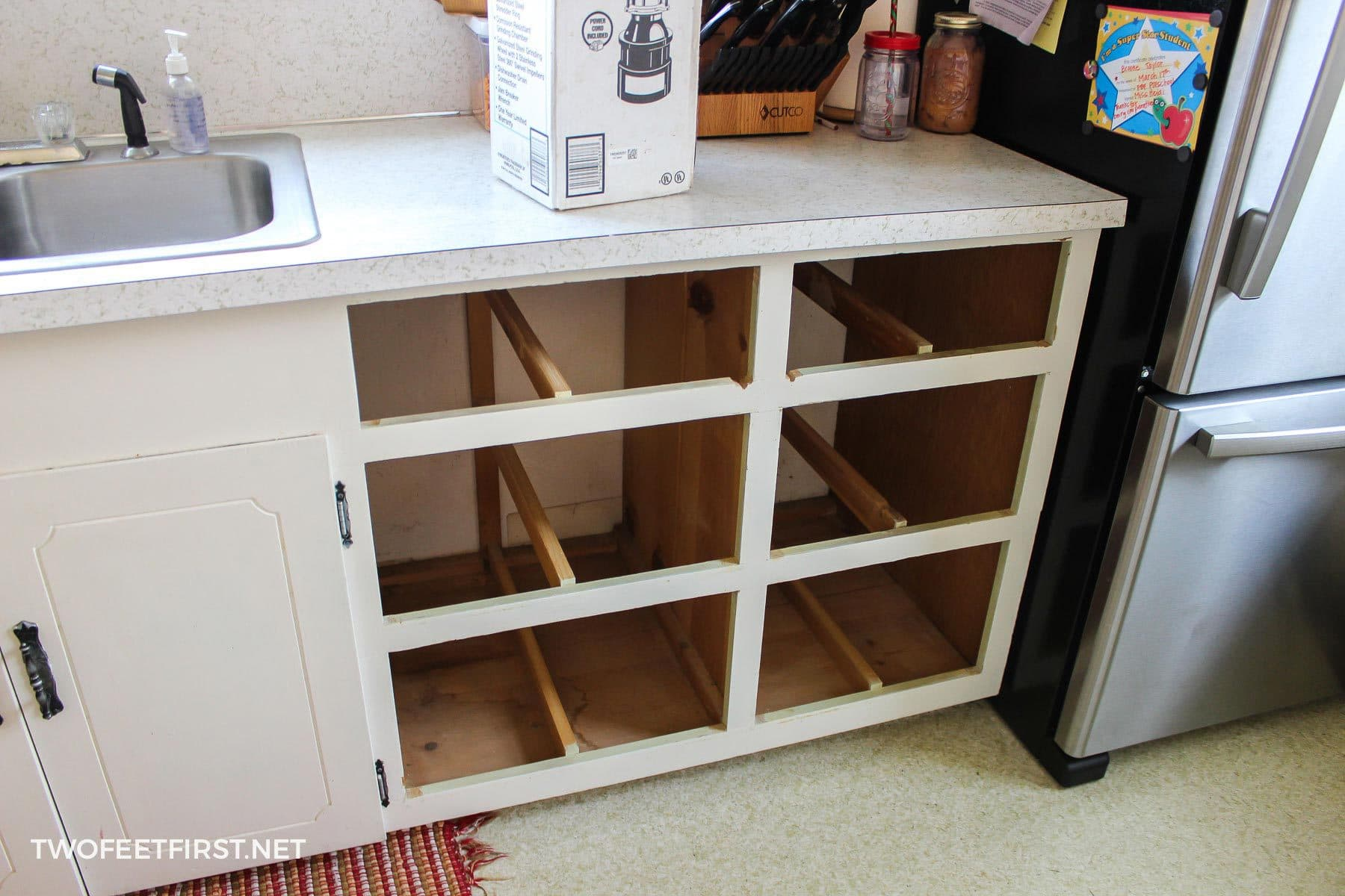 Adding A Dishwasher To Existing Cabinets - TwoFeetFirst