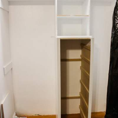 Build a Closet System – Part 2
