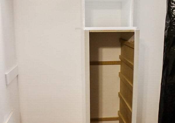 Build a Closet System – Part 2