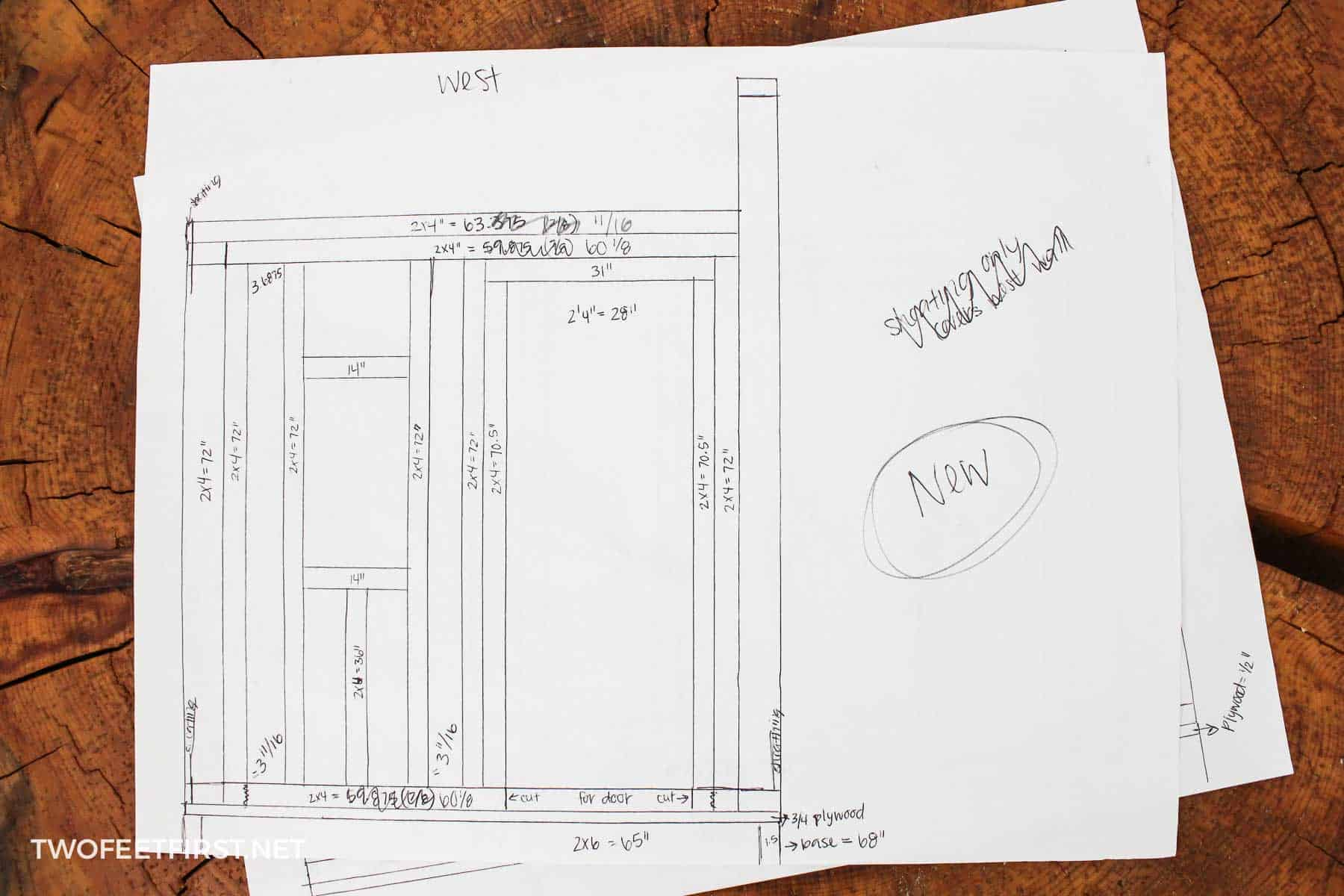 create a shed with plans