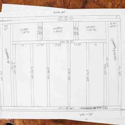 Create A Shed Blueprint (AKA: the PLANS)