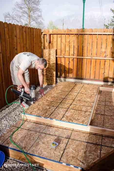 create a shed