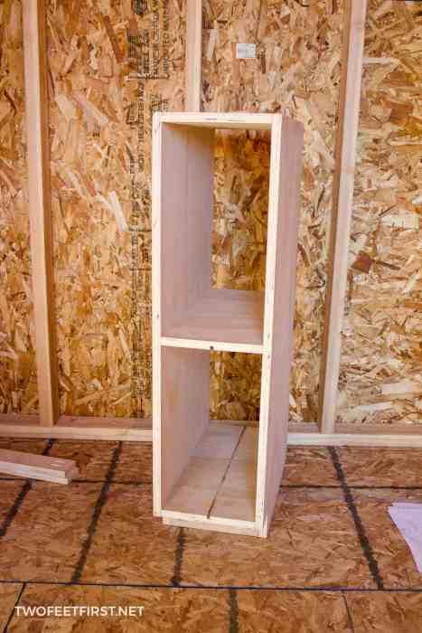 build cabinet frame