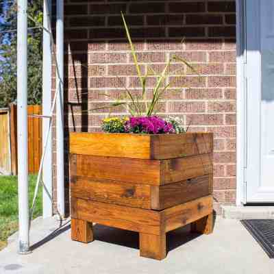 Build a square planter box