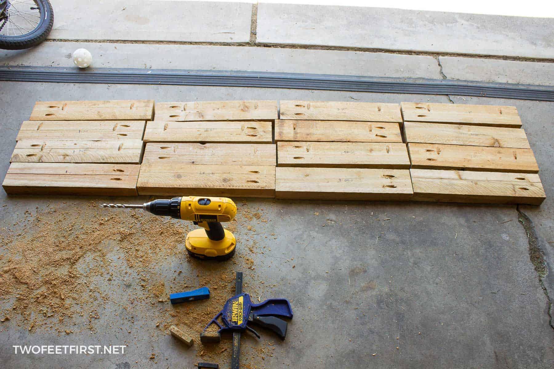 boards for square planter box