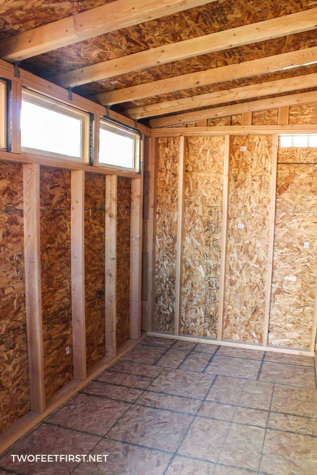 Shed With Not Shelves