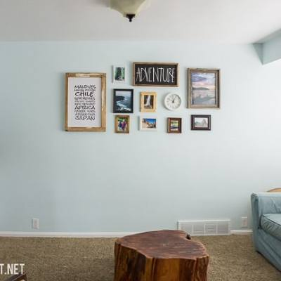 6 Steps to Create A Gallery Wall