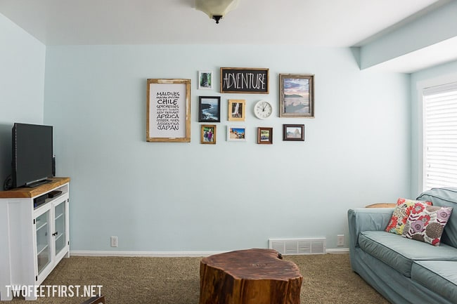 Tips to create a gallery wall