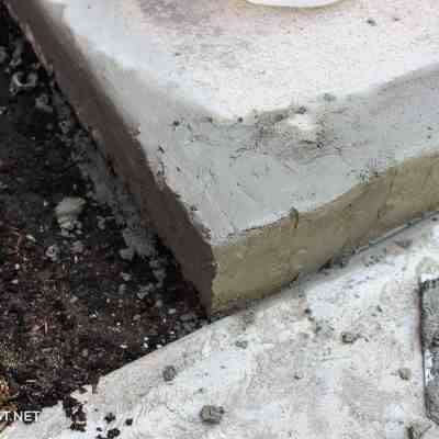 How's that Project Holding Up – Chipped Concrete Steps