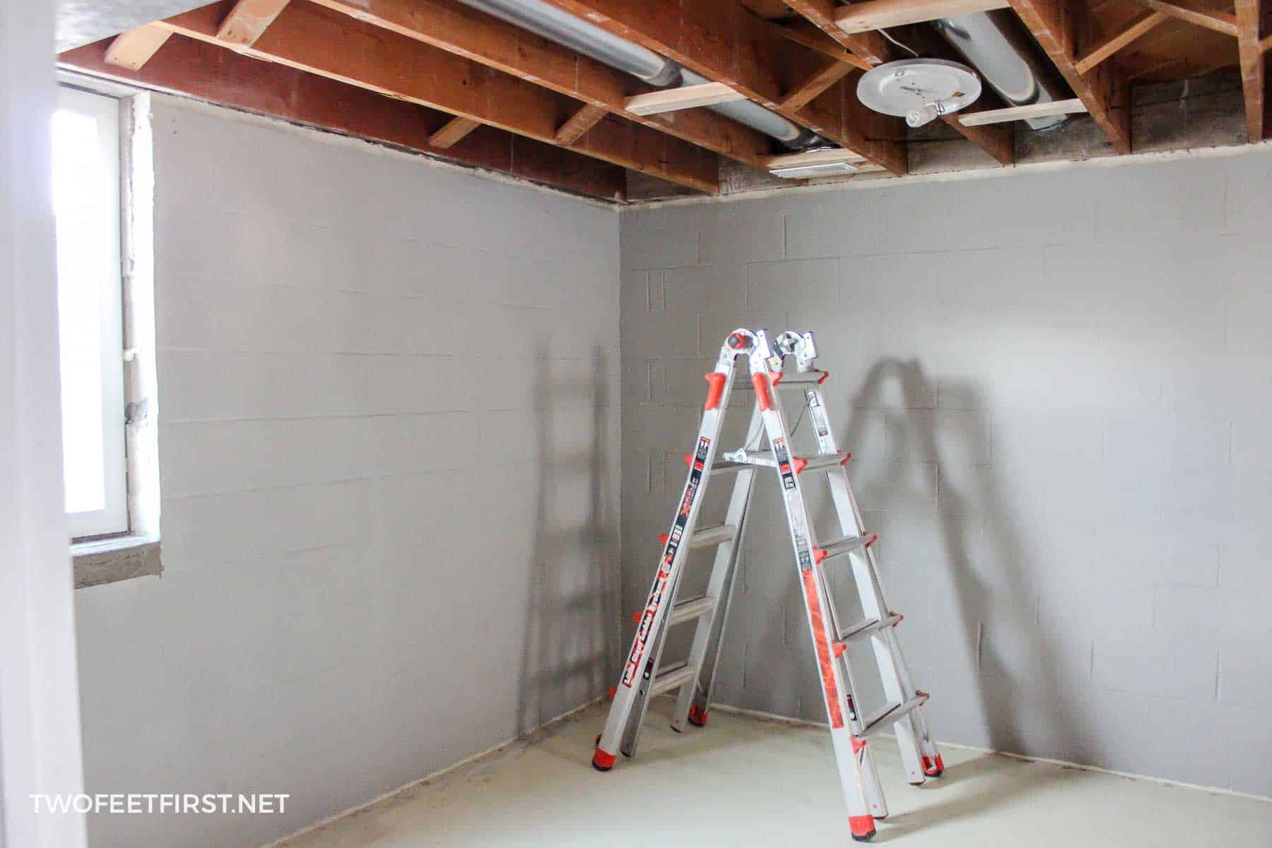 Insulating And Framing A Basement Wiring Insulation Unfinished Before