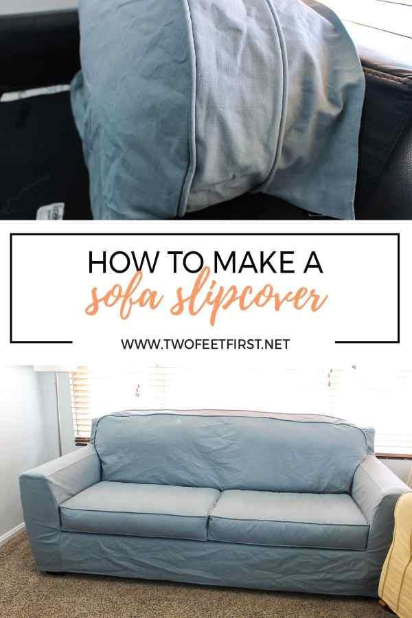 how to make a sofa slipcover. Black Bedroom Furniture Sets. Home Design Ideas