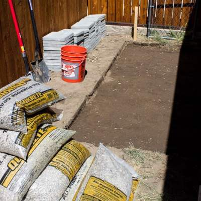 Installing Paver Foundation
