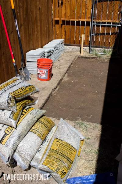 how to create a paver foundation