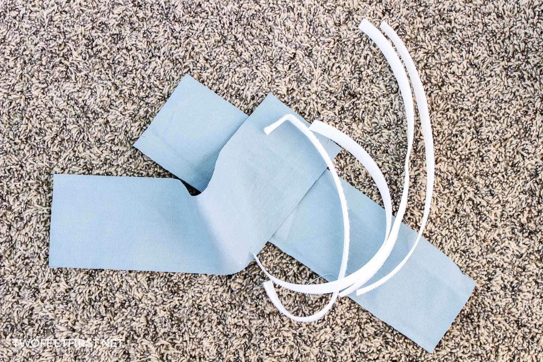Velcro for slipcover