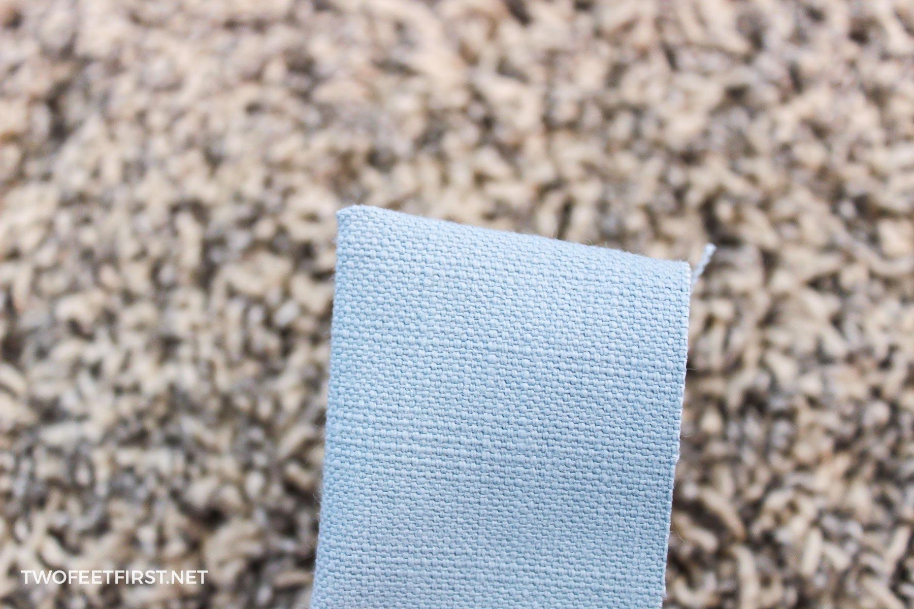 create a fabric point