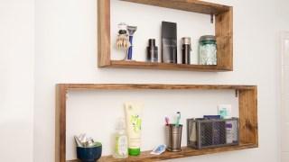 Super Simple DIY Box Shelves