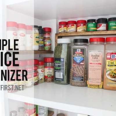 Cheap way to Organize Spices