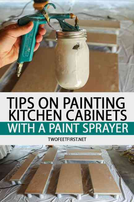 Tips on Painting Kitchen Cabinet with a Paint Sprayer