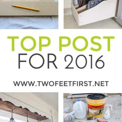 TwoFeetFirst Top Post for 2016