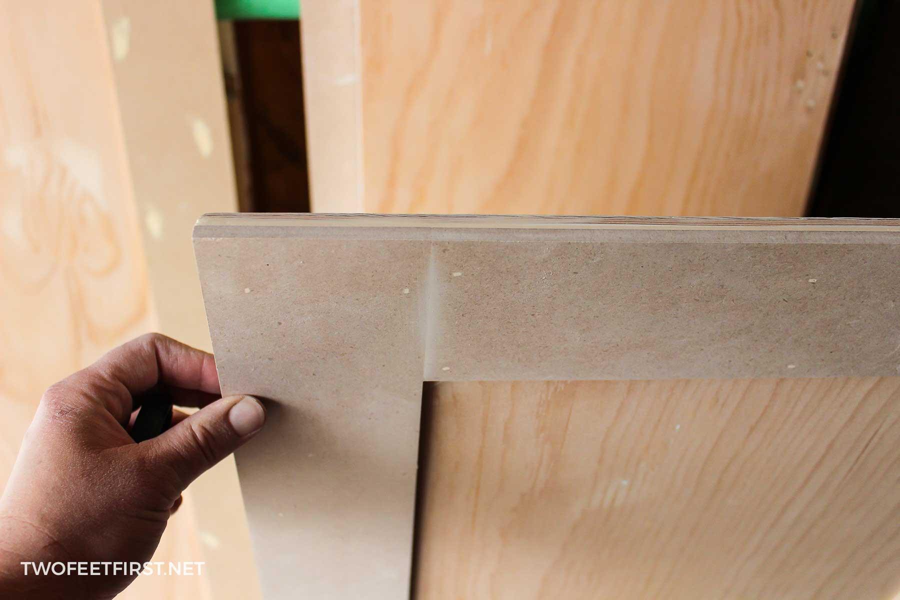 Wonderful Plywood Cabinet Doors Decorating Ideas