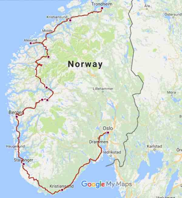 Norway Road Trip Itinerary An Epic Self Drive Adventure
