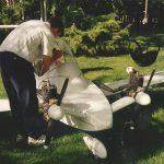 Cri Cri twin engine airplane