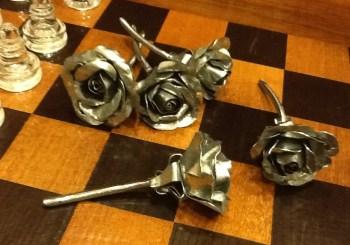completed roses