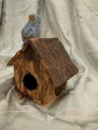Birdhouse - ceramic