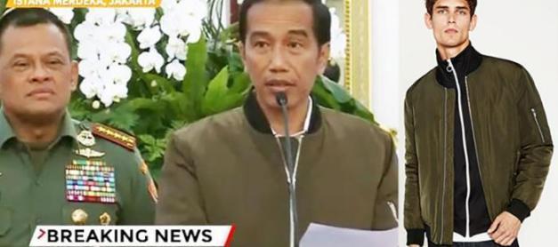 Semua Tentang Jaket Bomber Jokowi