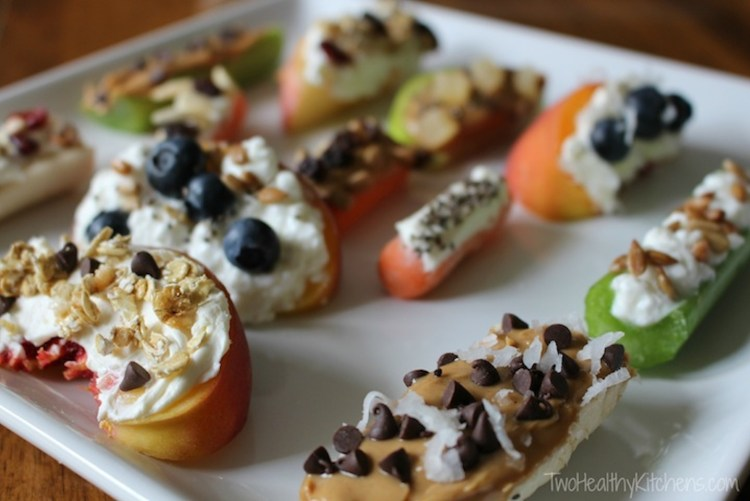 healthy snack ideas for work, Ants on a Log