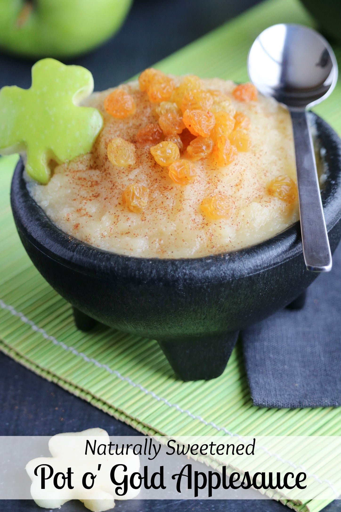 Naturally Sweetened Pot o Gold Applesauce  Two Healthy Kitchens