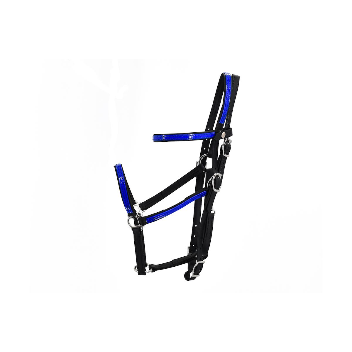 Shop Any 2 Color Combo Halter Bridle from Two Horse Tack