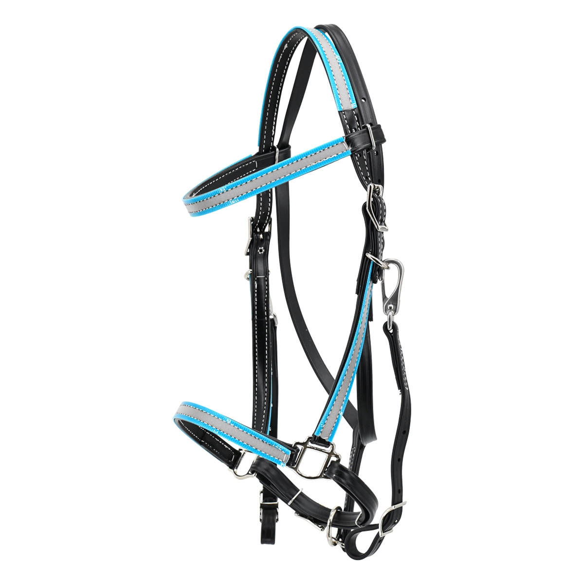 Traditional Halter Bridle Made With Reflective Day Glo