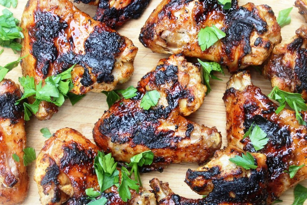 Grilled Chile Lime Chicken Wings