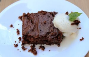 8 Minute Fudgy Brownies