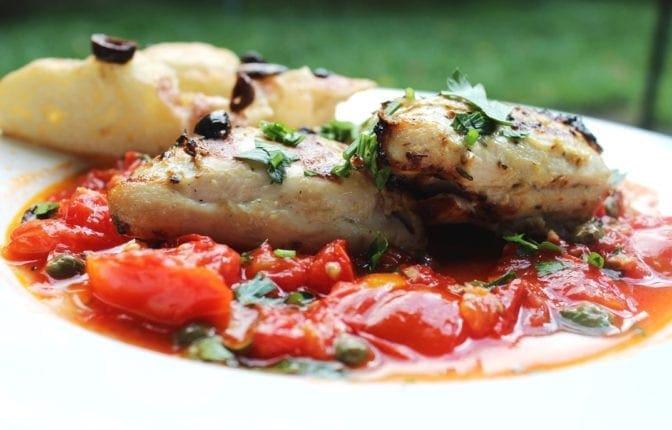 FreshTomato Saute with Chicken