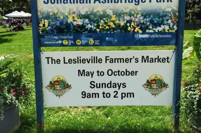 When Community and Food Come Together – Leslieville Farmers' Market