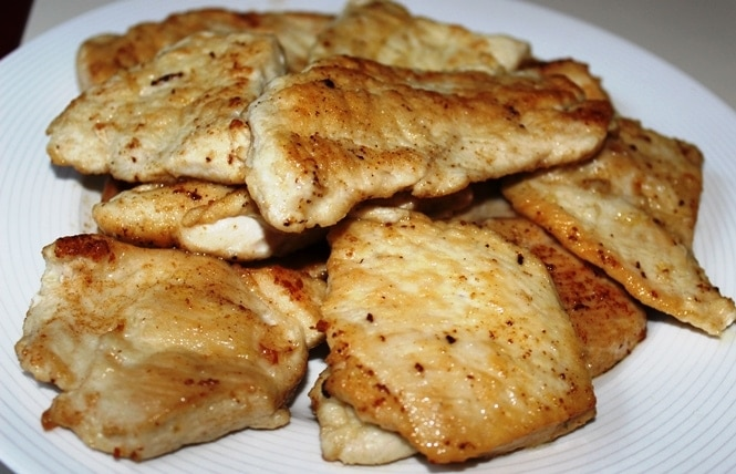 sauteed chicken
