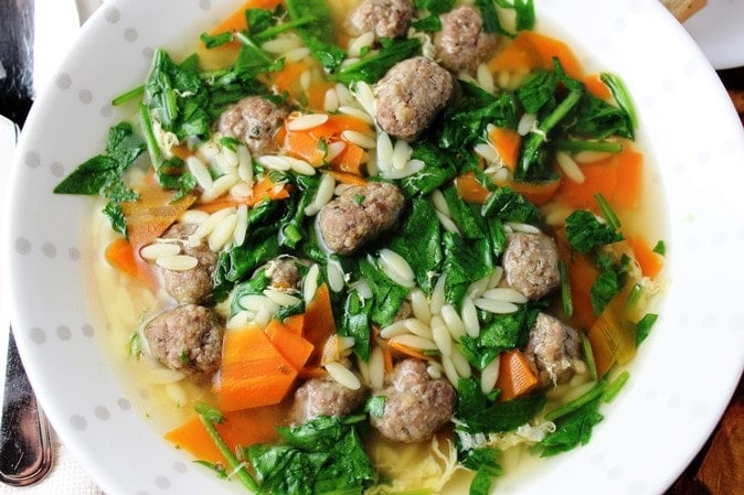 Zesty Wedding Soup