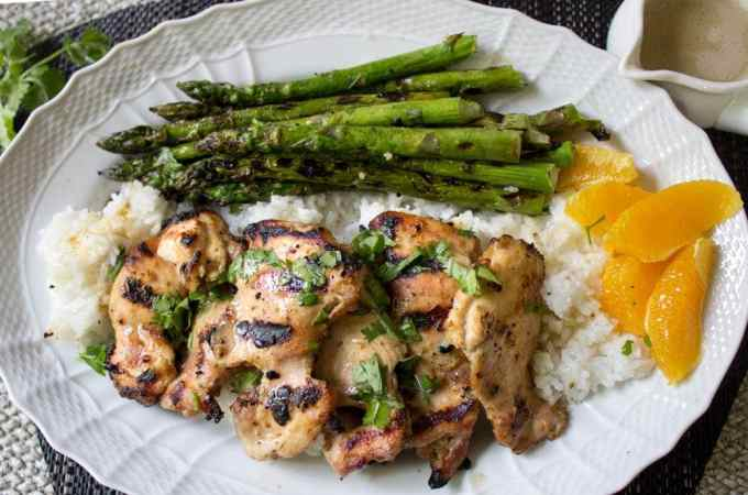 Thai-inspired Marinated Grilled Chicken
