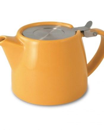 Tetera Mandarina Stump Teapot 40 cl Two Leaves