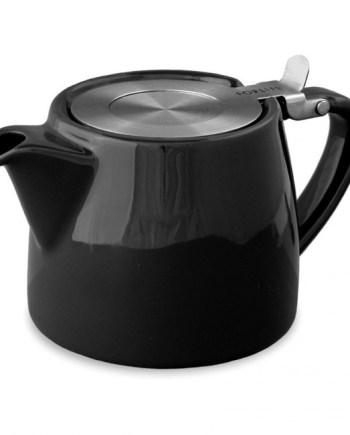 Tetera Negra Stump Teapot 40 cl Two Leaves Tea