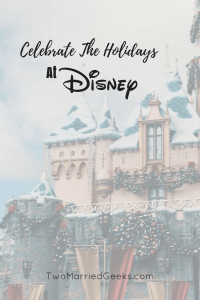 Disney is such a great place to Celebrate the Holidays! I'll Tell you why!
