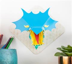 3D Dragon Head To Mount On Your Wall