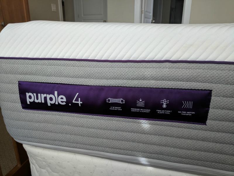 Purple 4 mattress