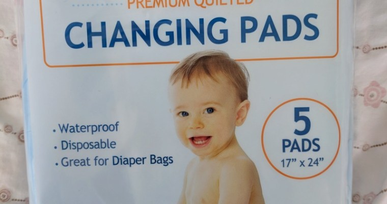 Disposable Baby Changing Pad That Holds Up to 8 Ounces of Liquid