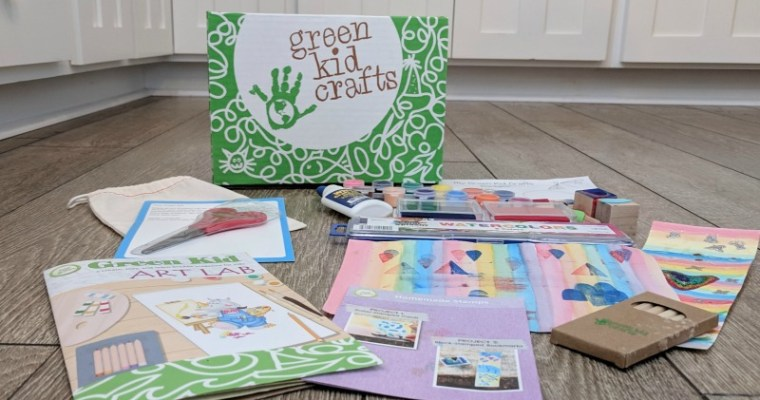 Green Kid Crafts Subscription Box Review + Save 50%